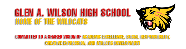 Glen A. Wilson High School  Logo